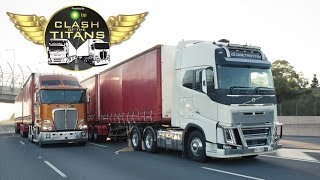 Download Kenworth vs Volvo Part Two | Clash of the Titans | Truck TV Australia Video