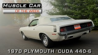 Download Muscle Car Of The Week Video Episode #186: 1970 Plymouth Cuda Convertible 440 4-Speed Video