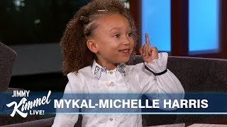 Download Seven-Year-Old Mykal-Michelle Harris on Mixed-ish, Mariah Carey & the 80's Video