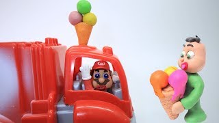 Download BABY SUPERHEROES ICE CREAM TRUCK - Clay & Play Doh Animated Movies For Kids Video