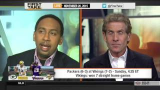 Download ESPN First Take - Packers vs. Vikings: Full Minnesota Game Preview Video