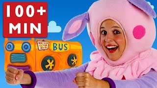 Download Wheels on the Bus and More Nursery Rhymes by Mother Goose Club Playlist! Video