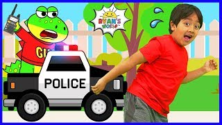 Download Ryan learns about Police Officers with Gus the Gummy Gator!!! Video