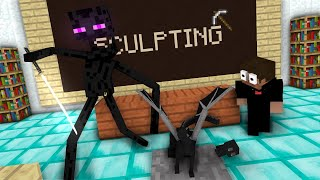 Download Monster School: Sculpting - Minecraft Animation Video
