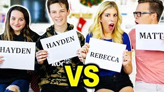 Download Who's Most Likely To Challenge with Annie Leblanc and Hayden Summerall! Video