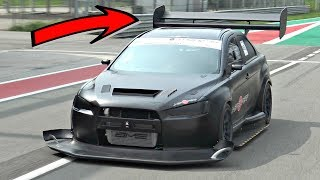 Download Mitsubishi Lancer EVO X INSANE Time Attack Build with Sequential ONBOARD @ Monza Circuit! Video