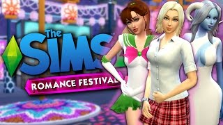 Download WOOHOO CLUB AT THE ROMANCE FESTIVAL - The Sims 4 Funny Highlights #94 Video