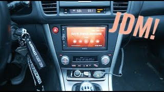 Download MAKING MY RADIO NOT SUCK! (JDM DOUBLE DIN LEGACY INSTALL) Video