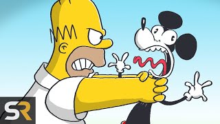 Download 15 Times The Simpsons Dissed Disney Video