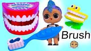 Download Brush Your Teeth ! Tooth Cavity Attack with LOL Suprise Punk Boi Boy - Video Video