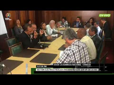 Venezuela - Trabajadores de Corpoelec se reunieron con comisión de la Asamblea Nacional - VPItv