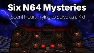 Download Six Nintendo 64 Mysteries I Spent Hours Trying to Solve as a Kid | SwankyBox Video