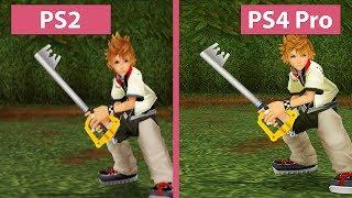 Download Kingdom Hearts II – PS2 vs. PS3 vs. PS4 vs. PS4 Pro 4K UHD Graphics Comparison Video