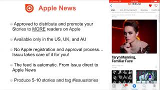 Download Get Your Content on Apple News! Become an Issuu Stories Publisher Video