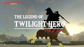 Download Zelda Breath of the Wild: Link and Wolf vs Gold Lynel Video