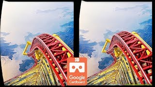 Download 3D Roller Coasters S VR Videos 3D SBS [Google Cardboard VR Experience] VR Box Virtual Reality Video Video