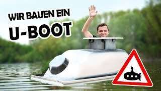 Download U-BOOT aus unserer BADEWANNE! #1 | Amphibienbadewanne DIY Video