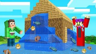 Download AQUARIUM HOUSE TROLL On My FRIEND! (Minecraft) Video