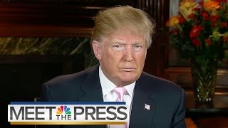Download Donald Trump: 'Mussolini Is Mussolini... What Difference Does It Make?' | Meet The Press | NBC News Video