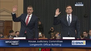 Download House Judiciary Committee Impeachment Inquiry Evidence Hearing Video