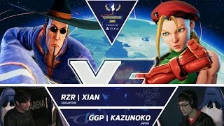Download RZR Xian vs GGP Kazunoko - Capcom Cup 2016 Day 1 Top 16 - CPT2016 Video