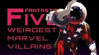 Download 5 Weirdest Marvel Villains - Fantastic Five Video