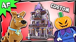 Download Custom Lego Scooby Doo HAUNTED HOUSE 75904 + 10228 MOC Stop Motion Build Review Video