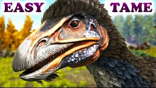 Download ARK HOW TO TAME A THERIZINOSAURUS The Fluffy Evil Gatherer Video