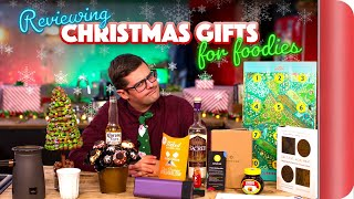 Download Reviewing Christmas Gifts For Foodies Video