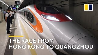 Download Is Hong Kong's high-speed railway the fastest way from A to B? We're putting it to the test Video