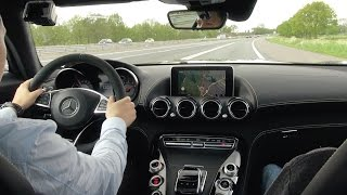 Download 510 HP Mercedes AMG GT S - BRUTAL Drive Review Acceleration Sound Exhaust Video