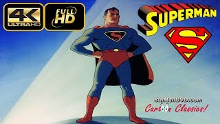 Download SUPERMAN CARTOON: The Mad Scientist (1941) (Remastered) [ULTRA HD 4K Cartoons] Video