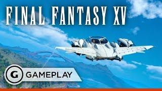 Download 7 Minutes of Touring Final Fantasy XV's World in Your Flying Car Video