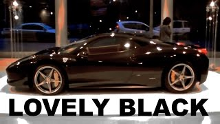 Download EVIL BLACK Ferrari 458 Italia Video