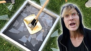Download DESTROYING MY GOLD YOUTUBE PLAY BUTTON Video