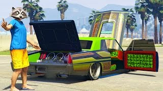 Download LOWRIDER DLC, VAPID CHINO Full Car Customization + HYDRAULICS Gameplay, GTA 5 Funny Moments Video
