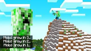 Download MOBS Get BIGGER And BIGGER Over TIME! (Minecraft) Video