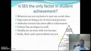Download Does Socioeconomic Status affect Achievement? Video