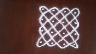 Download Kolangal 4 pulli neli kolam 4 parallel pulli kolam 4 dots kolam கோலங்கள் 4 புள்ளி கோலங்கள் Video