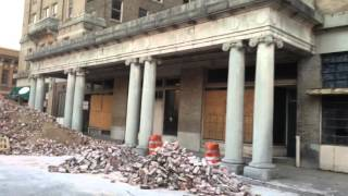 Download Pine Bluff, Arkansas Downtown Disaster Zone Video