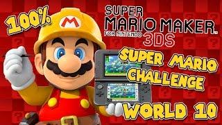 Download GOOD JOB YOSHI | Super Mario Maker 3DS | World 10 | All Medals Video