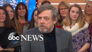 Download Mark Hamill reveals 'Star Wars: The Last Jedi' script left him 'stunned' Video