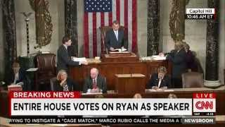 Download Paul Ryan officially elected Speaker of the House Video