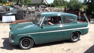 Download Ford Anglia v8, Sas style driving away #17 Video