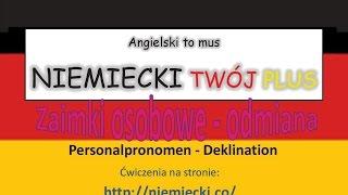Download Zaimki osobowe odmiana - Angielski to mus NIEMIECKI TWÓJ PLUS - Niemiecki gramatyka Video