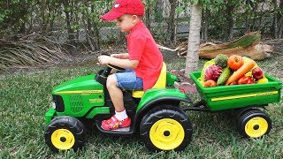 Download Roma feeding the Horse and learning names of Vegetables Video
