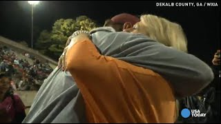 Download Wife's surprise brings veteran football coach to tears Video