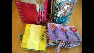 Download Make an Art Journal By Recycling Greetings Cards: Tutorial Part I Video