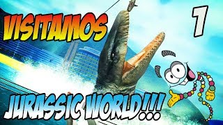 Download VISITAMOS JURASSIC WORLD!!! JURASSIC EXPLORER SEASON 2!! Video