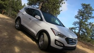 Download 2013 Hyundai Santa Fe Sport AWD on & off-road Review Video